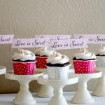 Love Is Sweet - Mini Cupca..